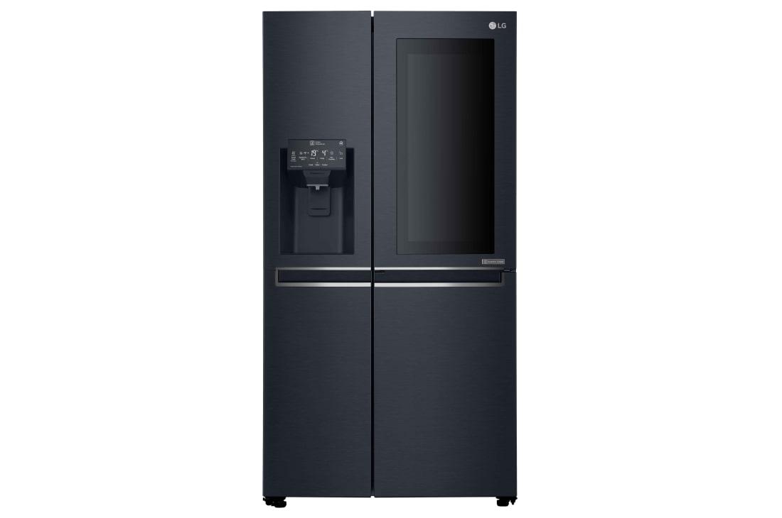 Amerikanischer Kühlschrank Kaufen österreich : Knock twice see inside lg instaview side by side kühlschrank