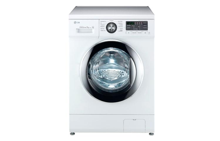 lg f1496qd3 directdrive waschmaschine mit bis zu 7kg. Black Bedroom Furniture Sets. Home Design Ideas