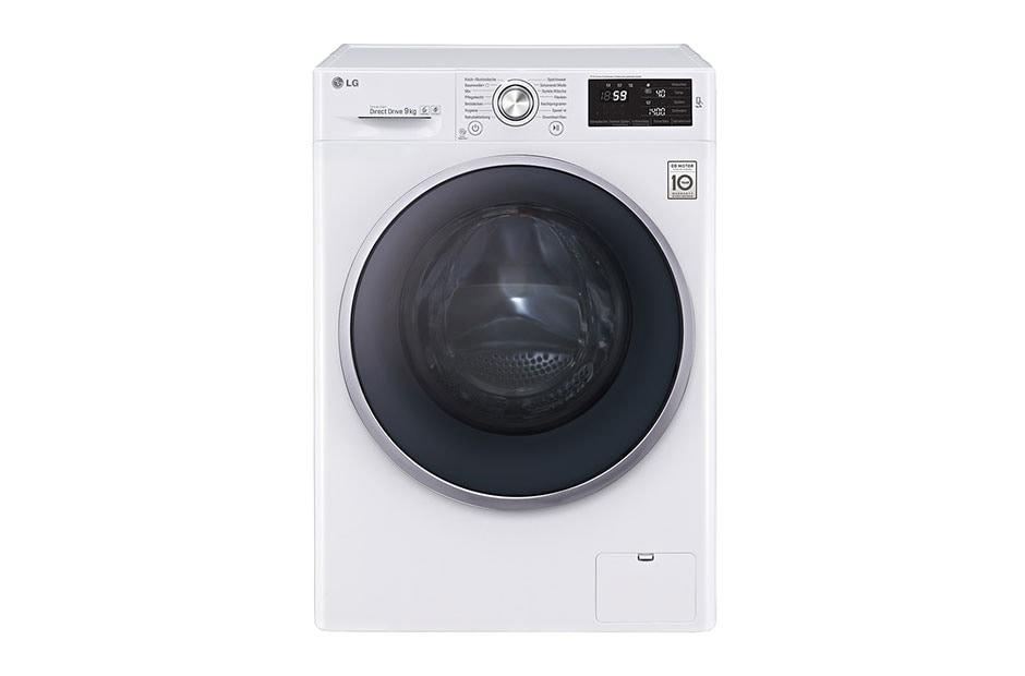 lg waschmaschine mit 6 motion direct drive 9 kg. Black Bedroom Furniture Sets. Home Design Ideas