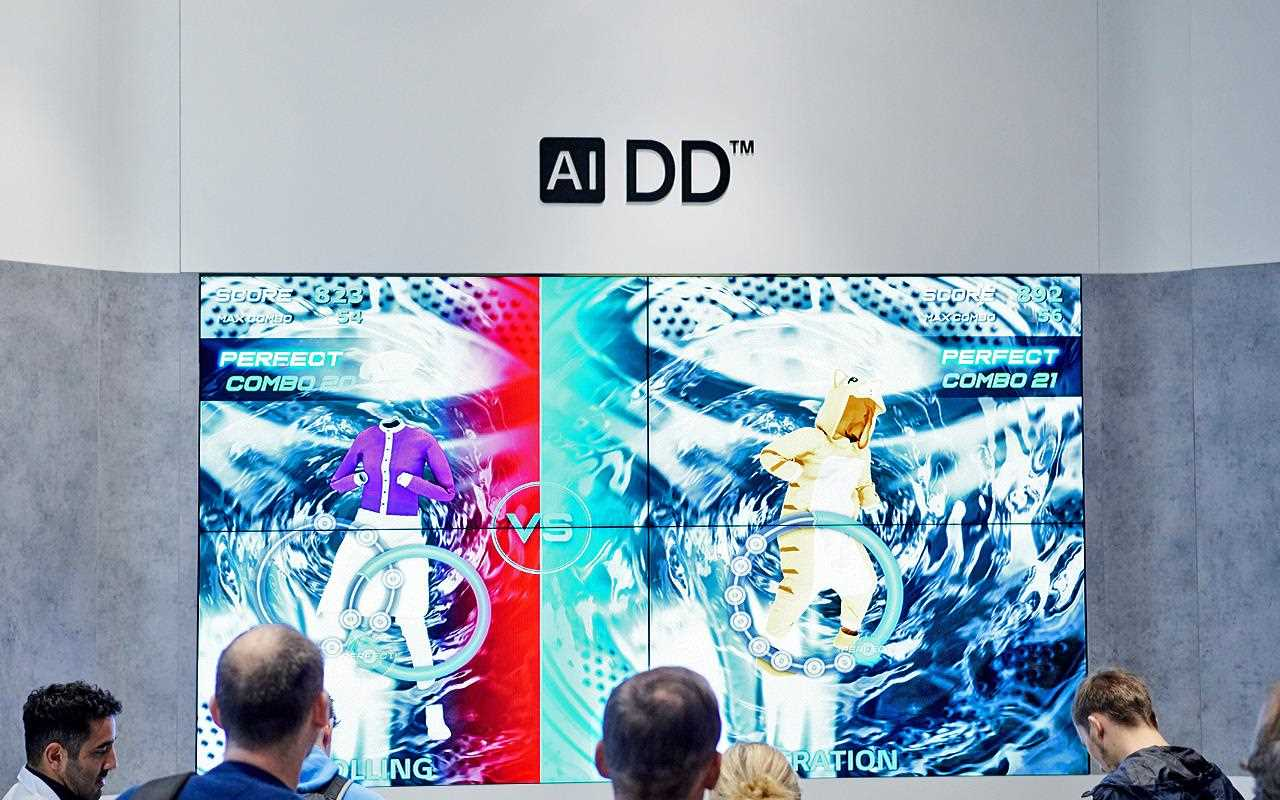 AI DD was a big feature, and on show at IFA 2019 | More at LG MAGAZINE