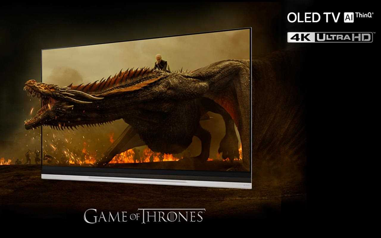 Watch Game of Thrones come to life in your living room all thanks to the lifelike picture quality of OLED and 4K on LG Smart TVs | More at LG MAGAZINE