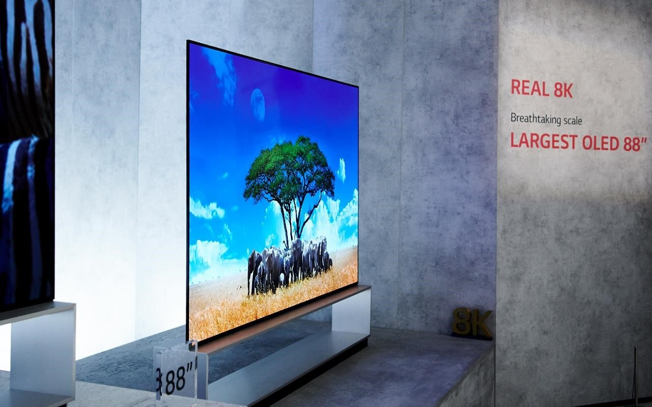 LG's 8K TVs are considered real 8K, with contrast modulation of around 90% | More at LG MAGAZINE