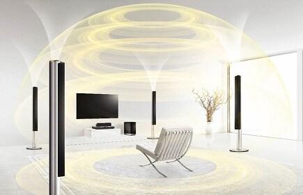 LGs neuestes Heimkino-System verwandelt Wohnzimmer in einen Kinosaal ...