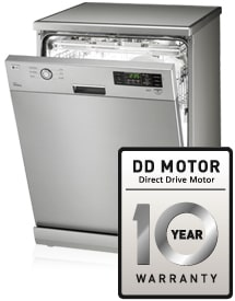 Lg extends its innovative dishwasher range for Lg direct drive motor