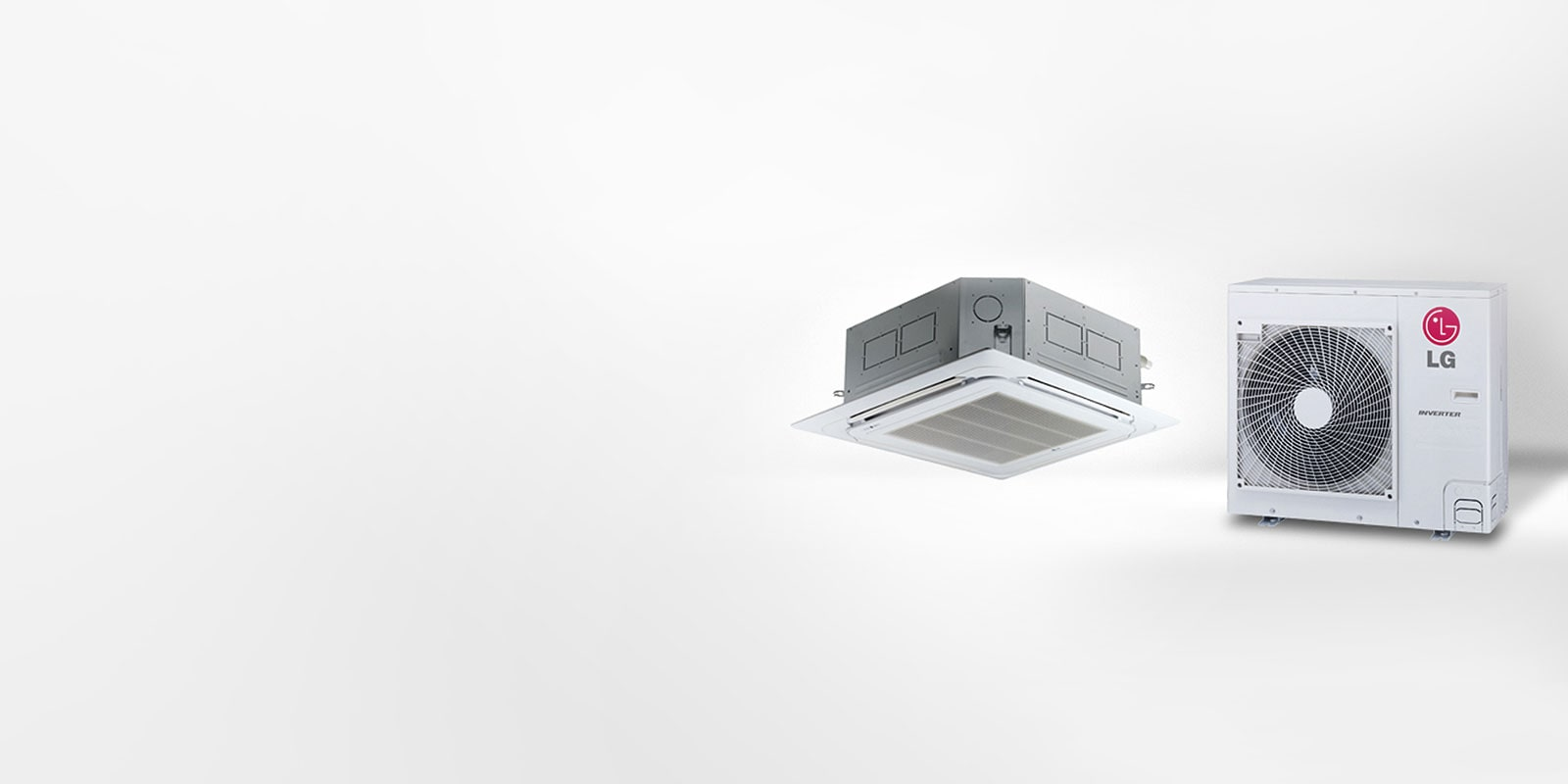 Ceiling Mounted Cassette Air Con for Public Spaces   LG ...