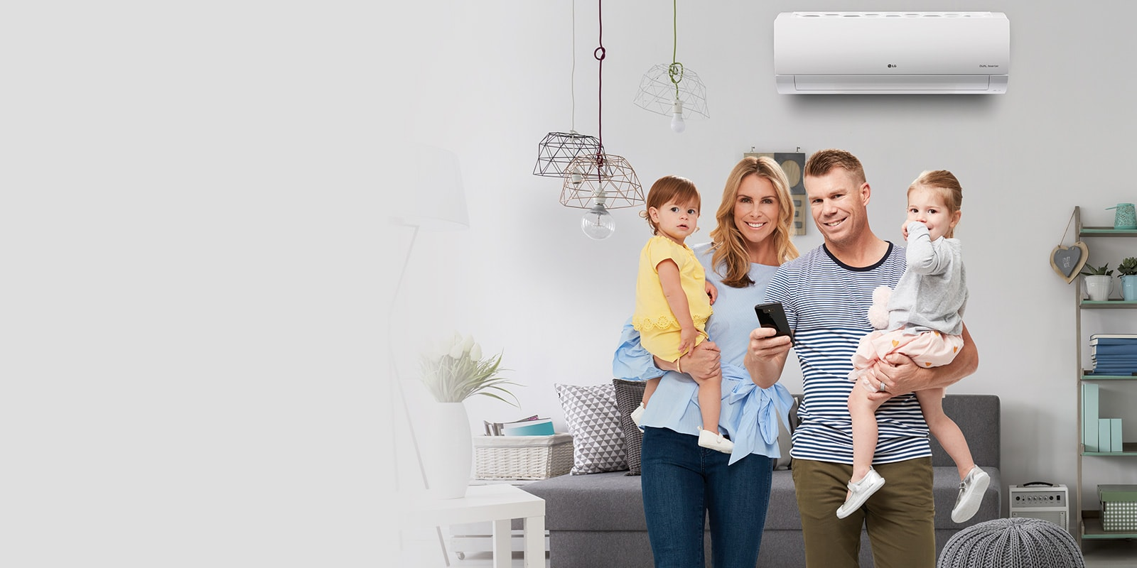 Home Air Conditioning Smarter Energy Saving Cooling Lg