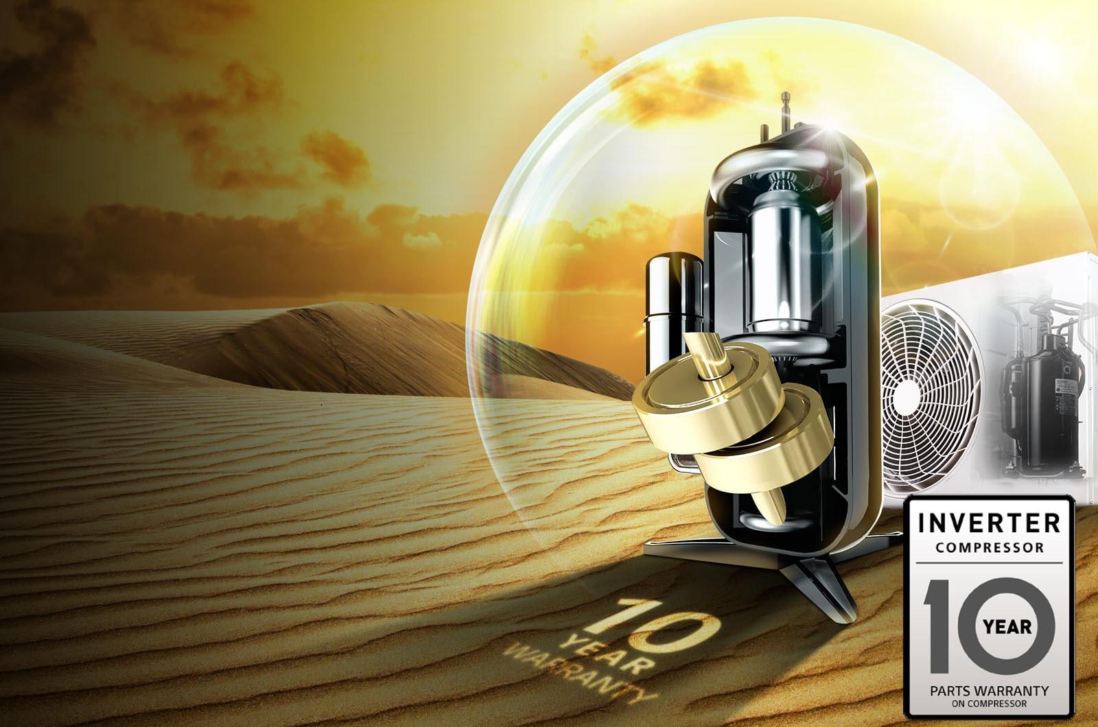 Smart Inverter Compressor™1
