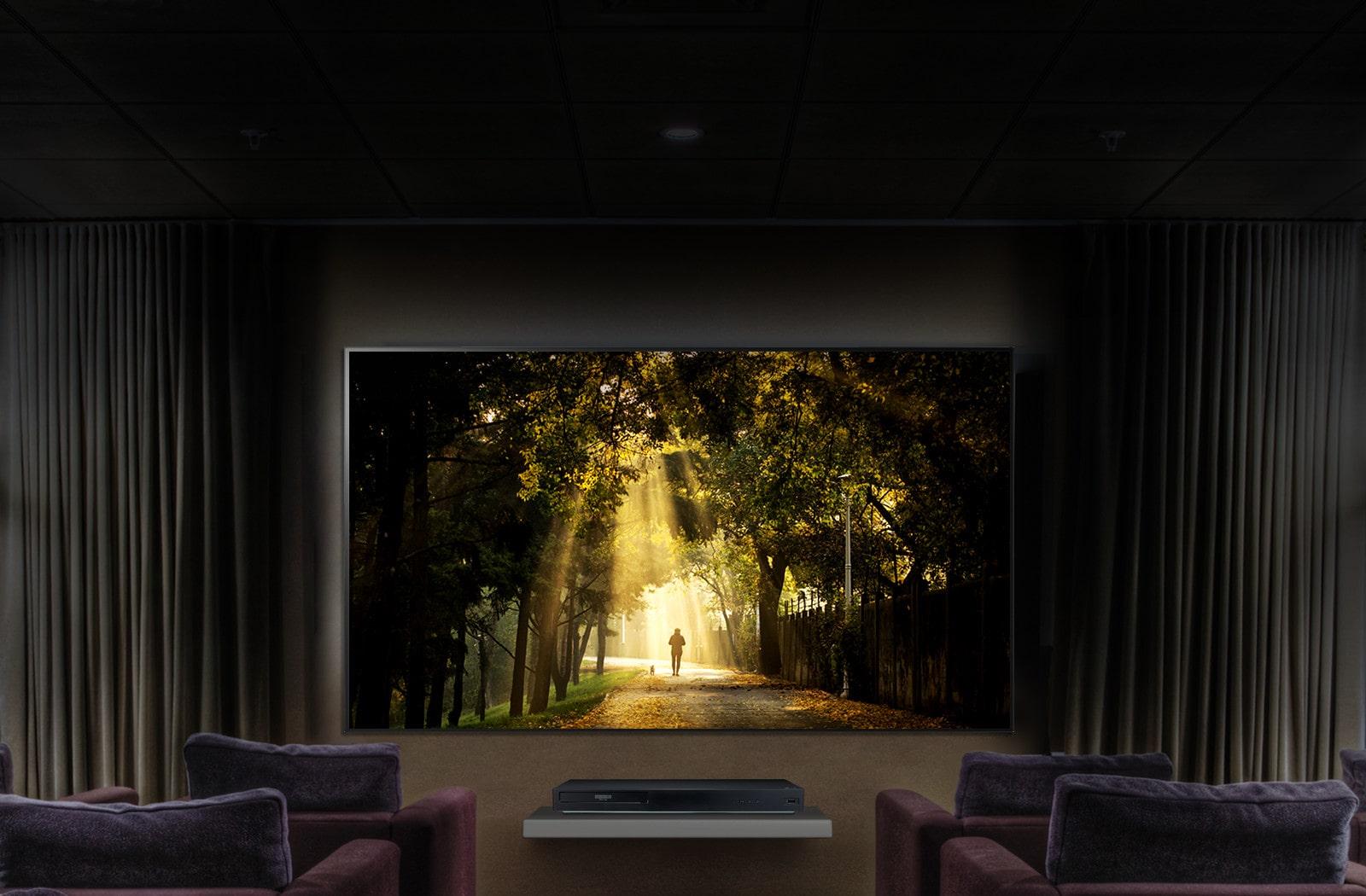 LG UBK90 4K Dolby Vision Blu Ray Player | LG Australia