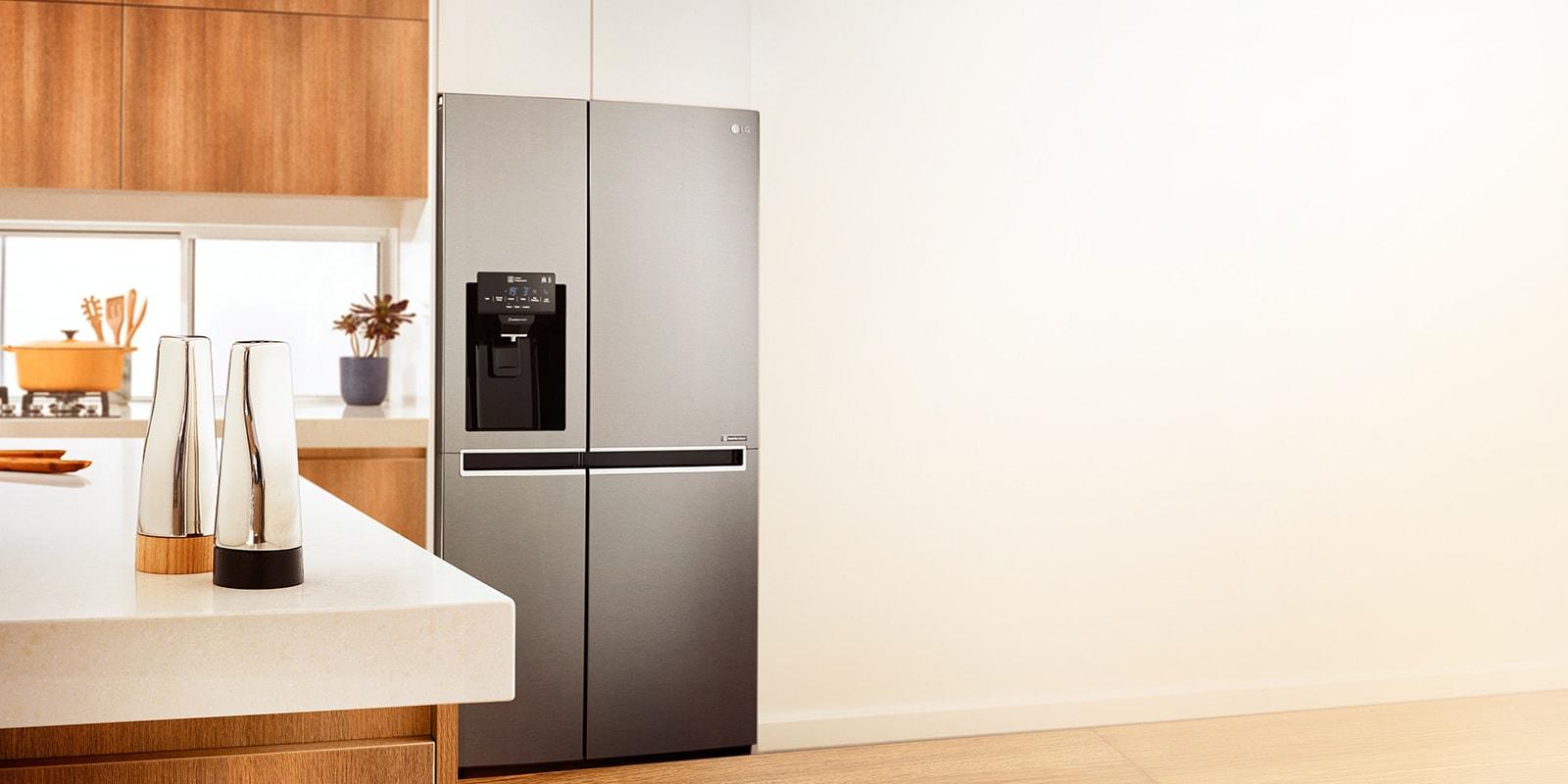 Side By Side & Double Door Refrigerators   LG Australia