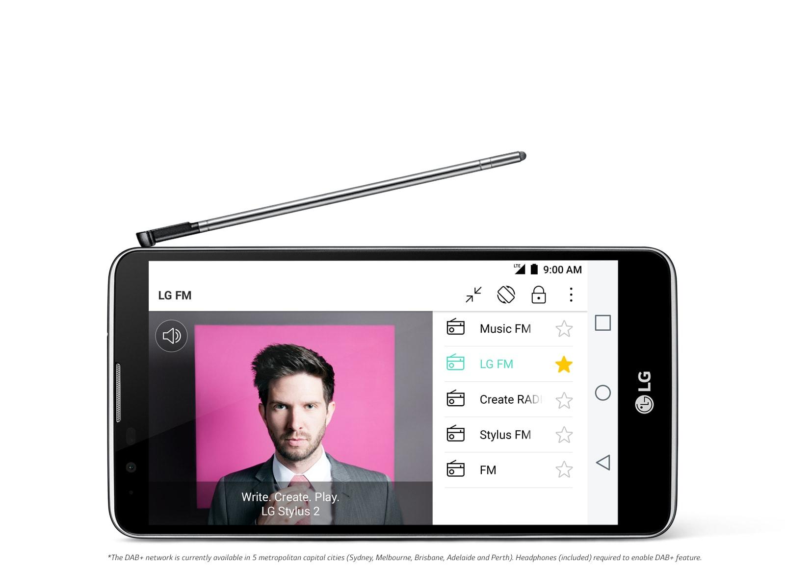 lg stylus dab smartphone lgk520k lg australia. Black Bedroom Furniture Sets. Home Design Ideas