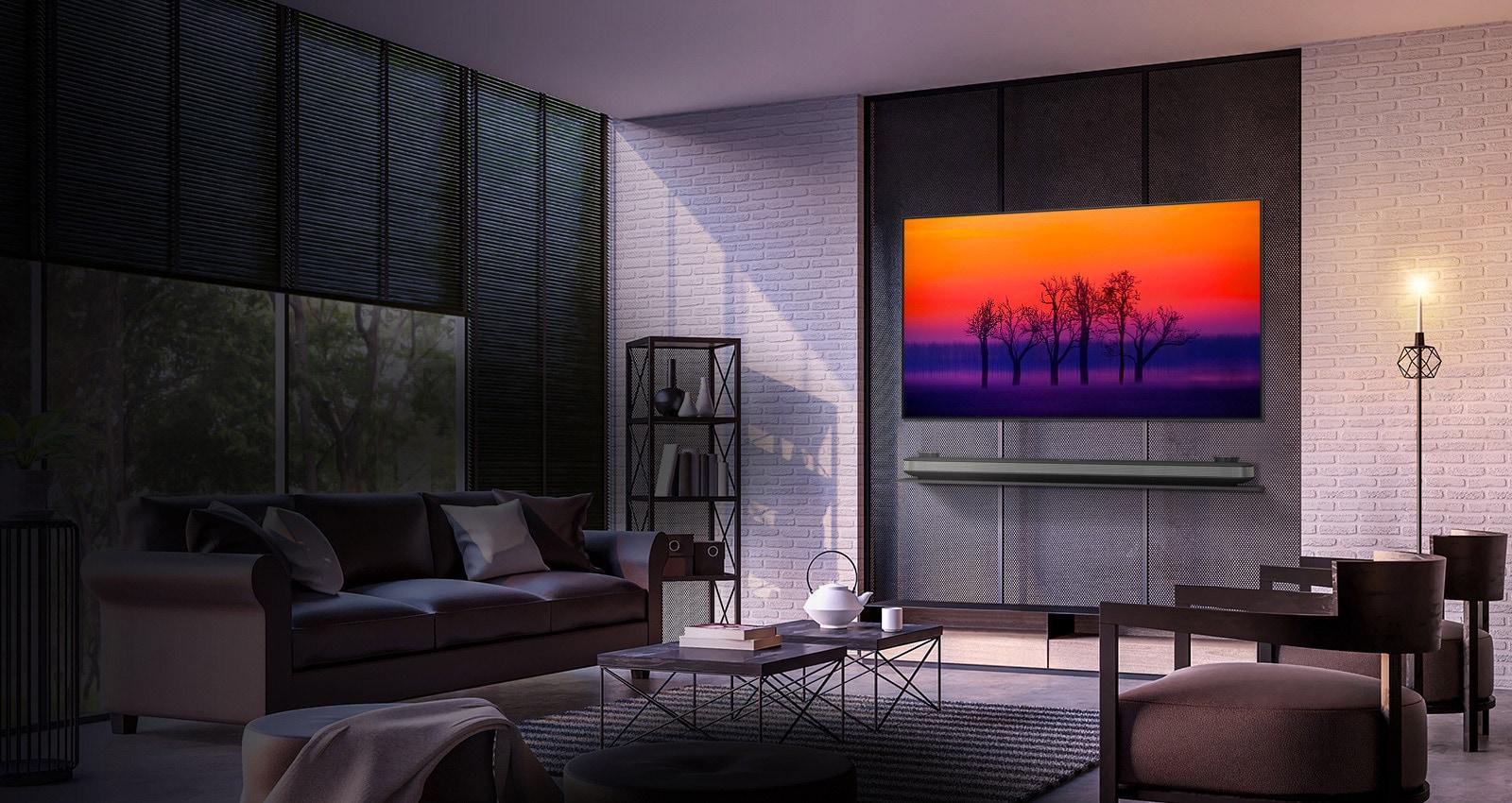LG W8 OLED TV SIGNATURE Wallpaper 65 Inch TV | LG Australia