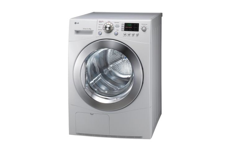 Lg Dryer Drum In The Hole ~ Td c e kg condensing dryer in white finish lg