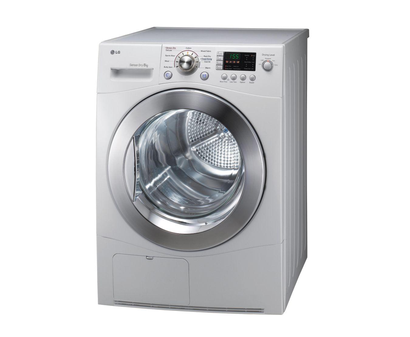 td c8031e 8kg condensing dryer in white finish lg australia