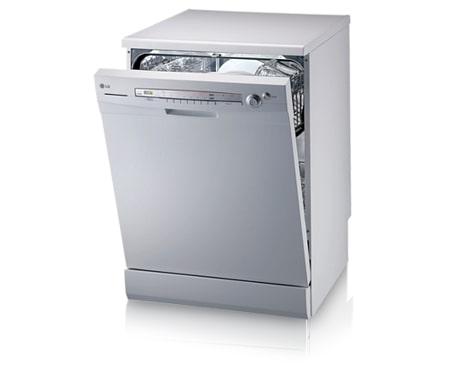 lg dishwasher. 12 place setting white dishwasher (wels 3 star, 15.2 litres per wash) lg l