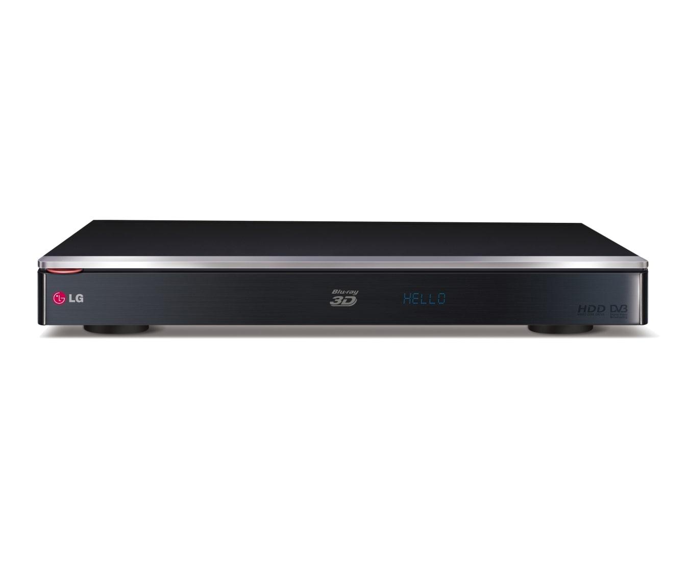 HR945T - 500GB Twin HD Tuner HDD Recorder with Blu-ray Player | LG Australia