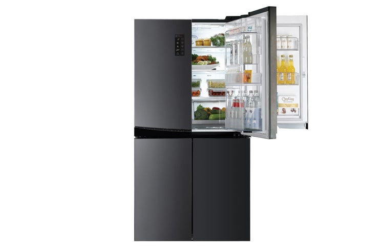 lg gr 5d951l 951l door in door french door refrigerator. Black Bedroom Furniture Sets. Home Design Ideas