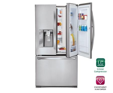 Lg Gr D907sl 3 Door French Door Refrigerator With Door In Door Lg Australia