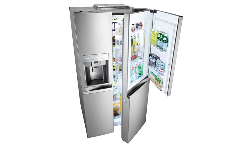 Nice Mesmerizing French Door Refrigerator Without Ice Maker Astounding Lovely  Counter Depth No Water Dispenser Lg Small. Side By The Good Guys