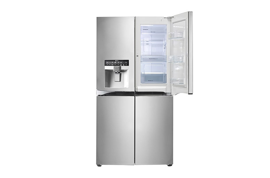 d refrigerator door lg french hsn wide ft steel stainless products cu