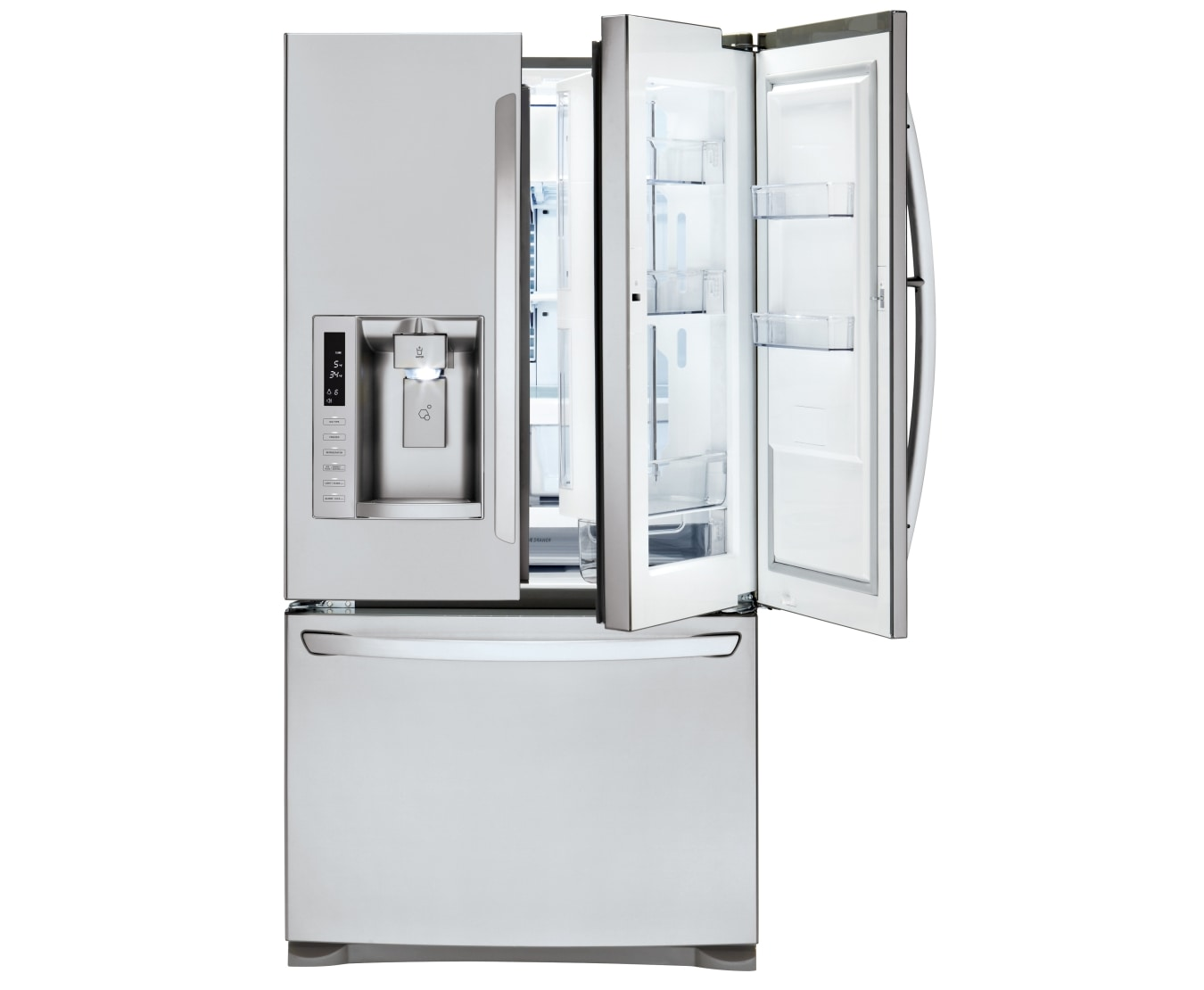 Lg Gf D613sl 613l French Door In Door Refrigerator Lg Australia