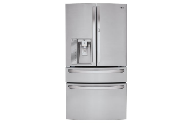 product with french in lg steel door refrigerator stainless