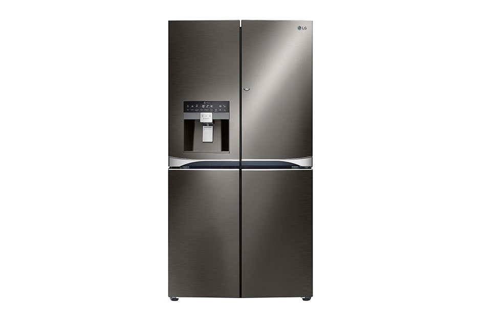 cu french brick kitchen the refrigerators product item ft refrigerator appliances lg door