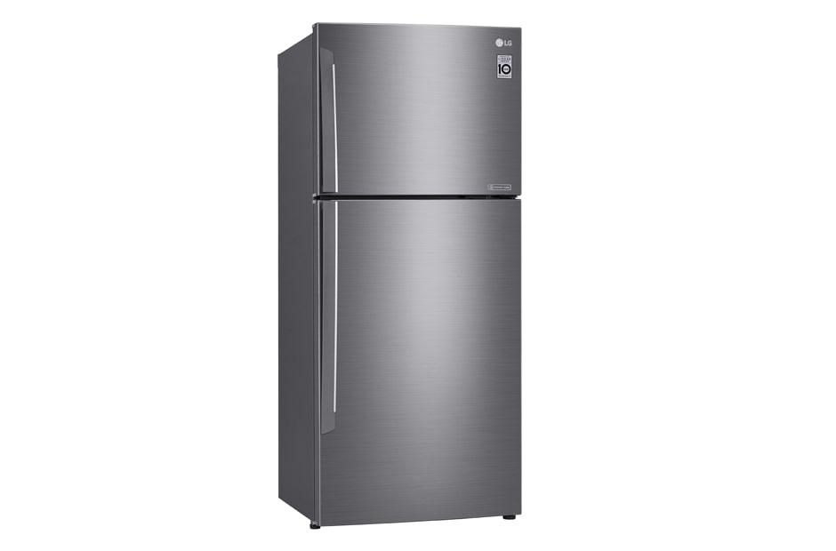 LG 441L Top Mount Fridge with Door Cooling+™, GT-442SDC, thumbnail 2
