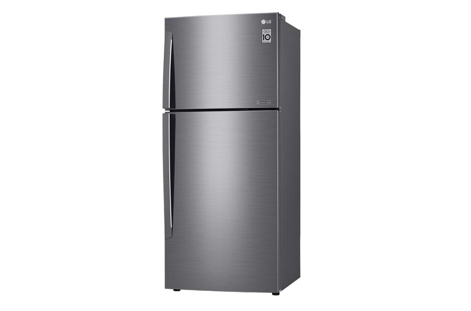 LG 441L Top Mount Fridge with Door Cooling+™, GT-442SDC, thumbnail 3