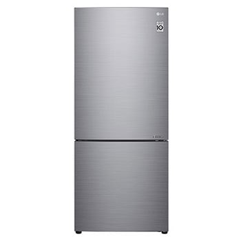 454L Bottom Mount Fridge with Door Cooling in Stainless Finish1