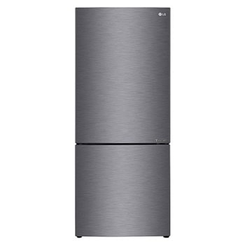 454L Bottom Mount Fridge with Door Cooling in Dark Graphite Finish1