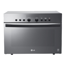 LG Lightwave ovens can microwave, bake, roast, grill and / or steam food.
