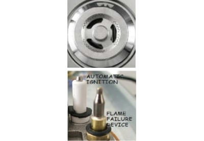 <span>AUTOMATIC IGNITION </span>AND <span>FLAME FAILURE SAFETY</span>
