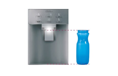 TALL ICE AND WATER DISPENSER