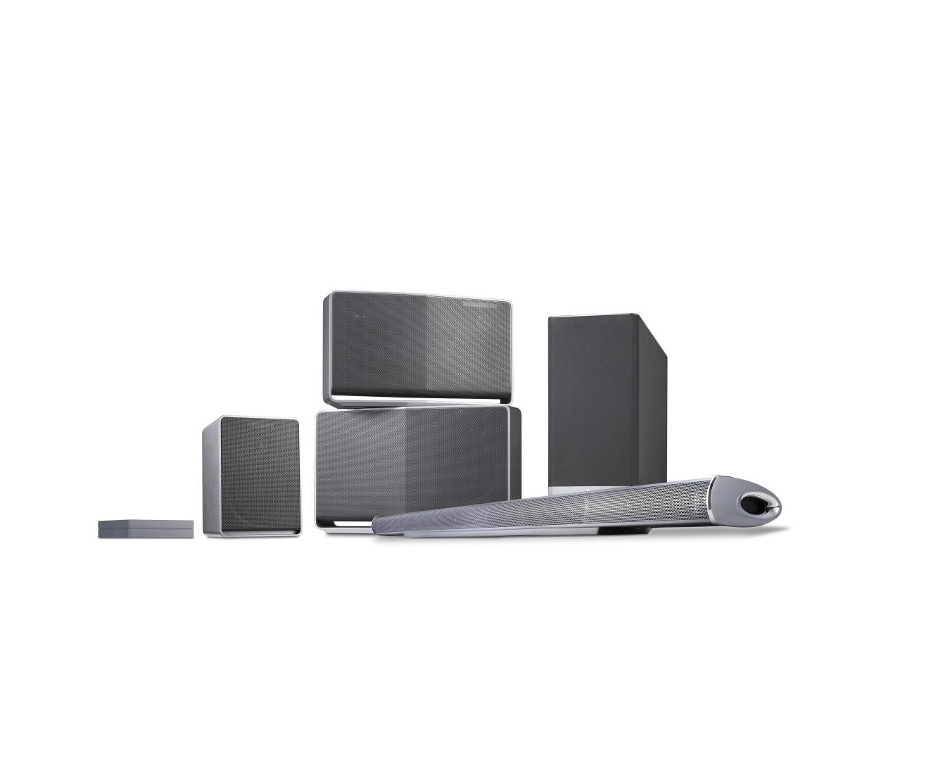 H3 (NP8340) - Smart Hi-Fi Wireless Network Speaker | LG