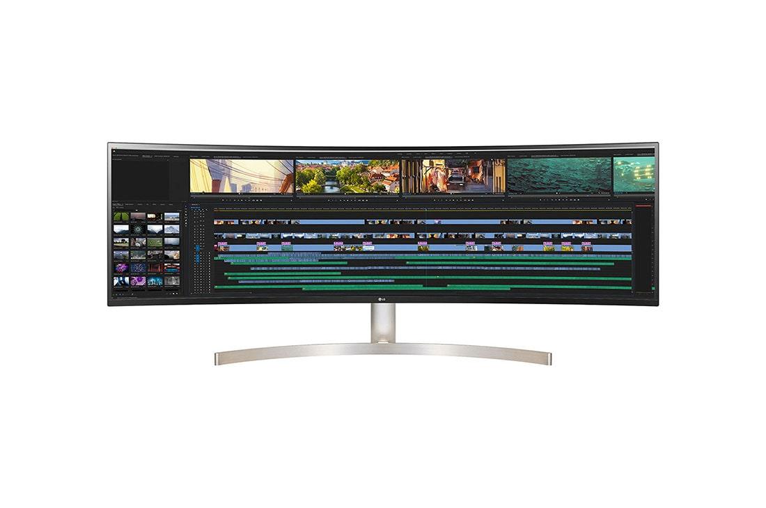 "49"" UltraWide IPS Monitor | 49WL95C-W | LG Australia"