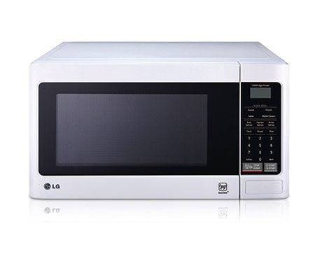30l White Microwave Oven With I Wave