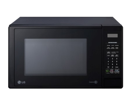 20l Black Microwave Oven