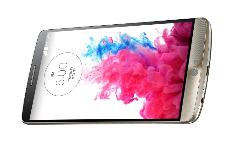 "LG Smartphones 5.5"" Quad HD Screen, 13 MP Camera, Android KitKat thumbnail 3"