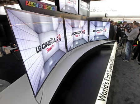 lg tv best buy. 15, 2013 \u2013 lg electronics (lg) demonstrated its continued commitment to oled tv with a revolutionary curved model, the ea9800, shown for first time at lg tv best buy