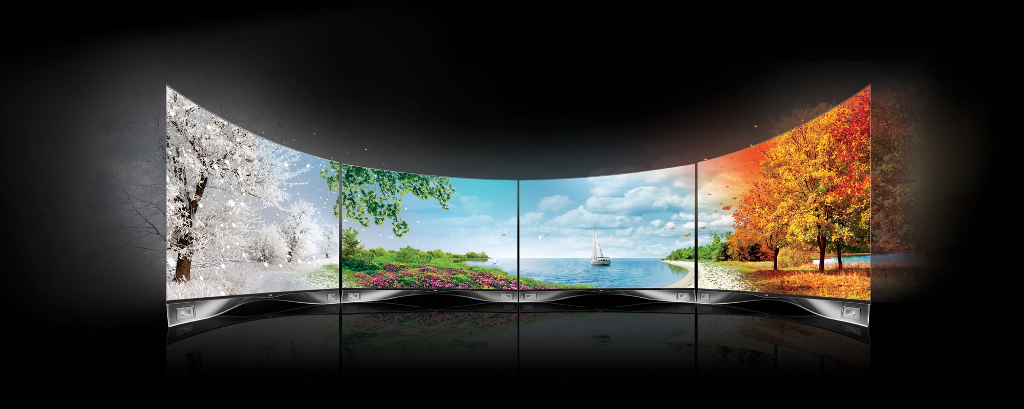 LG's CURVED OLED AND 4K ULTRA HDTV RANGE TO HIT STORES