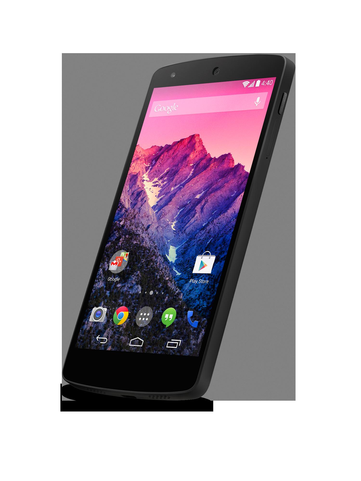 LG AND GOOGLE INTRODUCE GOOGLE NEXUS 5  Nexus 5 Phone Png