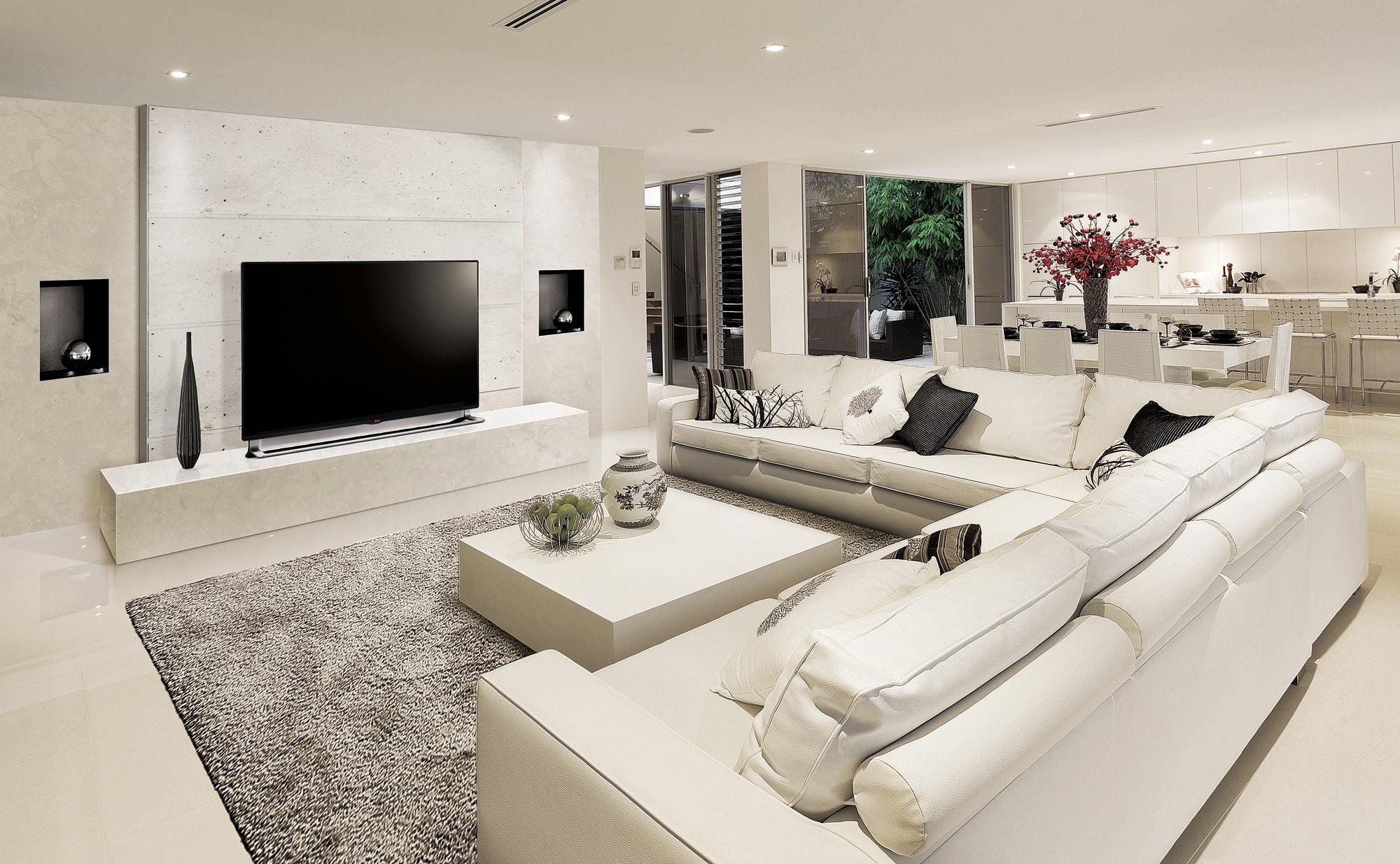 Inch Tv In Living Room
