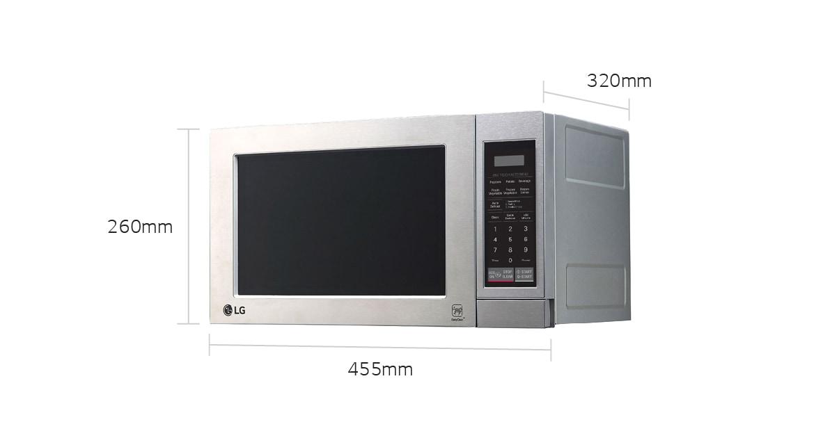 Ms2044vs 20l Stainless Steel Microwave