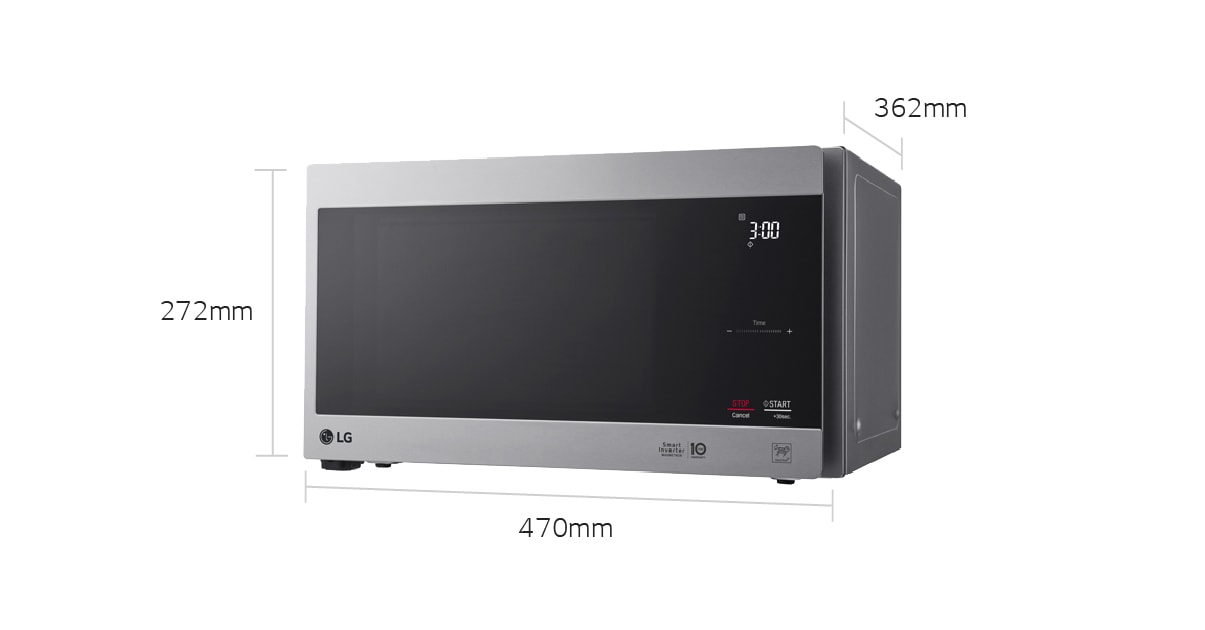 Lg Microwaves Ms2596os 25l Inverter Microwave Oven Lg