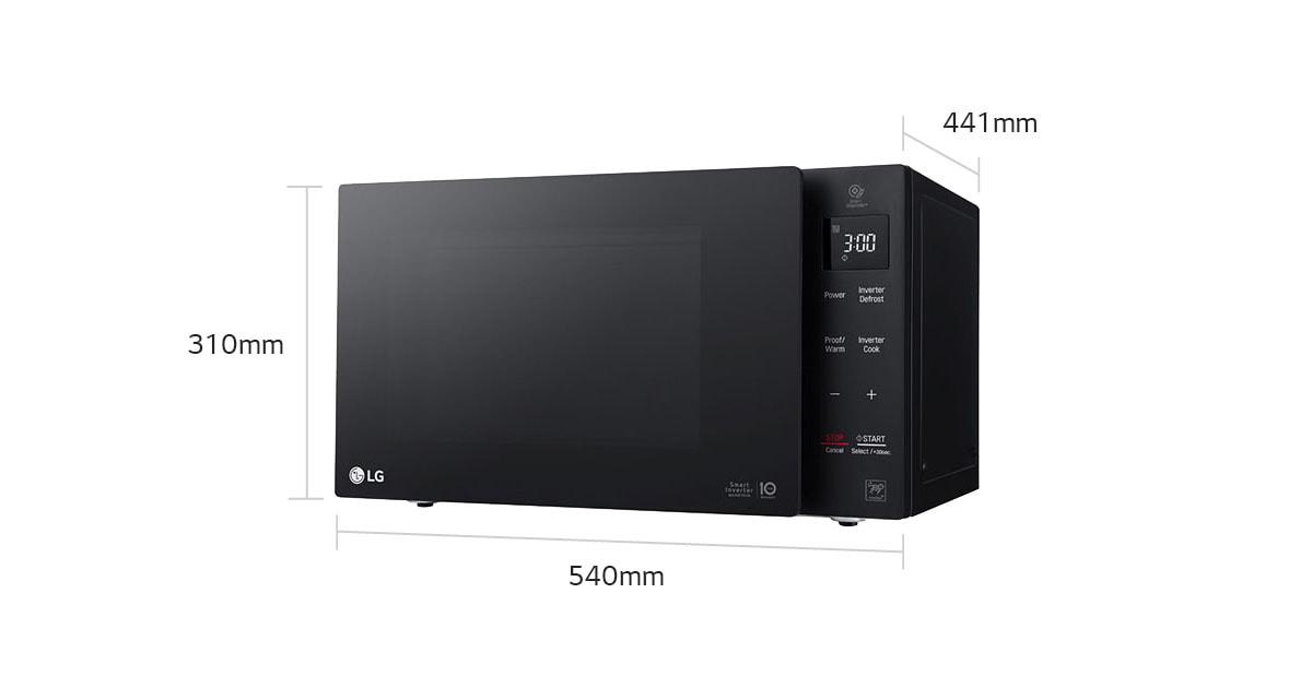 Lg Microwaves Ms4236db 42l Inverter Microwave Oven Lg