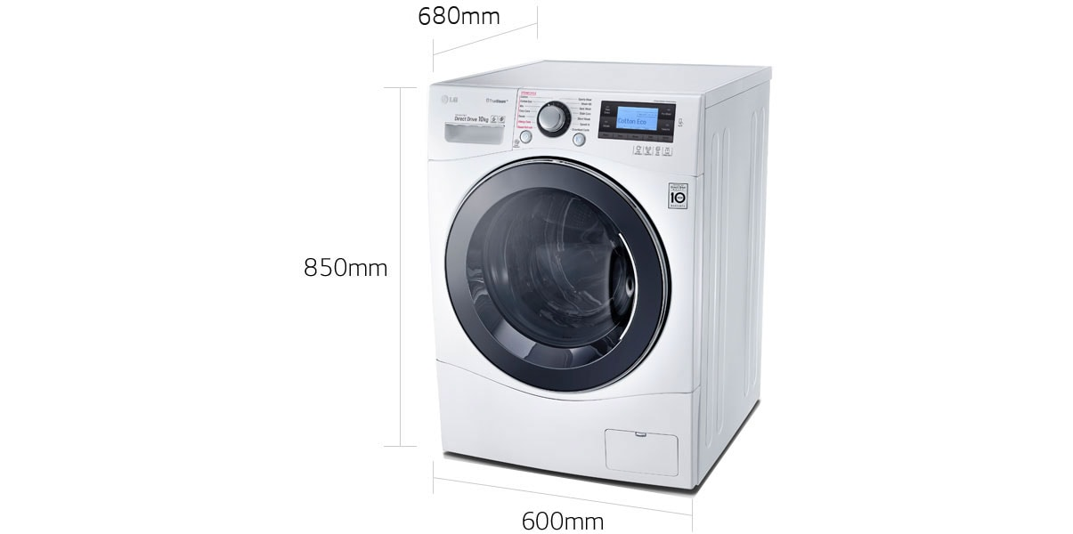 Lg Front Load Washing Machines Wd1410sbw Front Loader