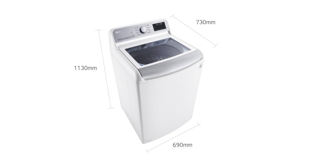 Lg Top Load Washing Machines Wtr1132wf Top Loader Lg