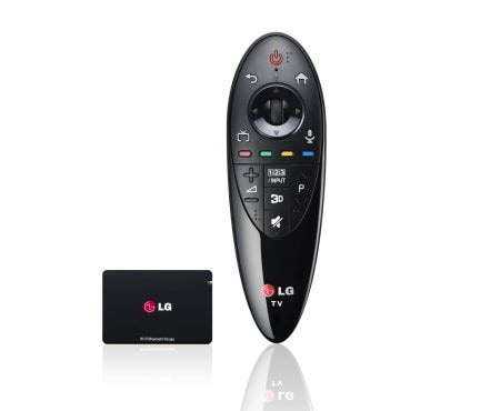 LG TV Accessories AN-MR500 and AN-WF500 Bundle 1