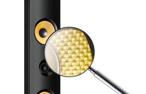 Aramid fiber Speaker