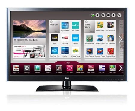 LG 47LV5500 TV Windows 7